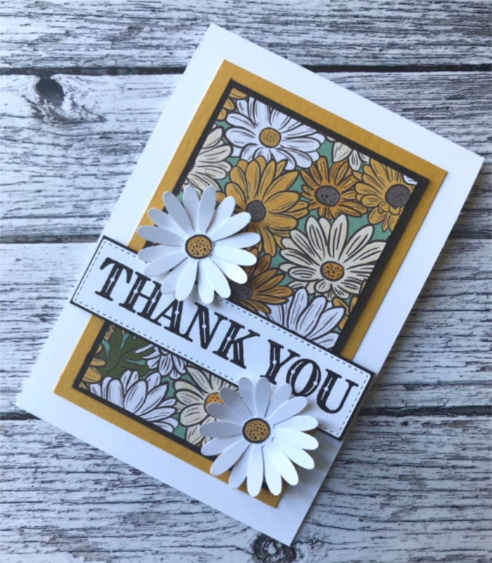 Ornate Garden Thank you card