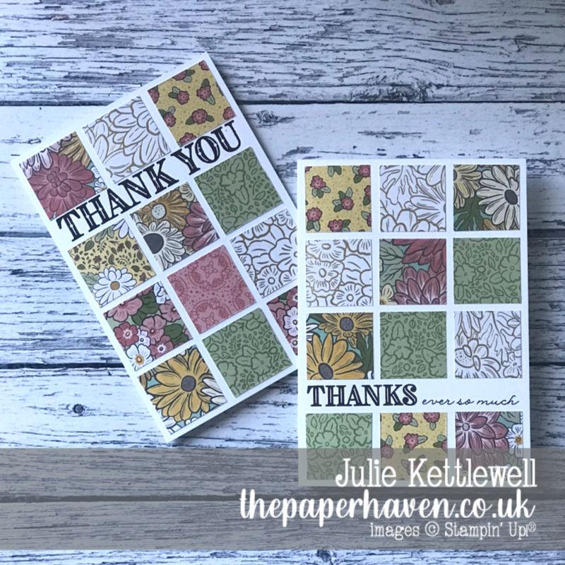 Ornate Garden Tiled Card