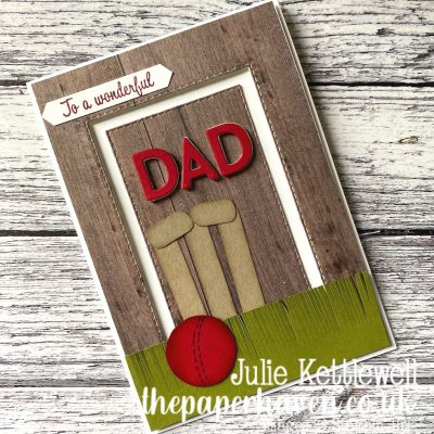 Father's Day Cricket card