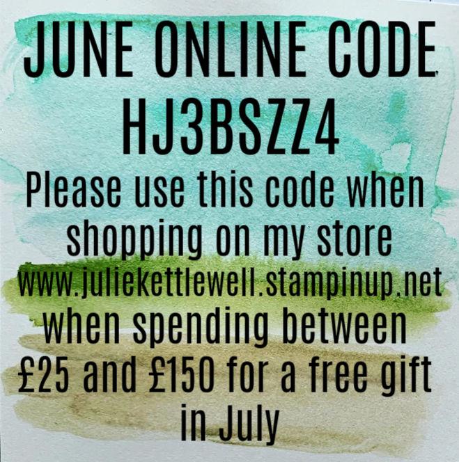 June Online Code