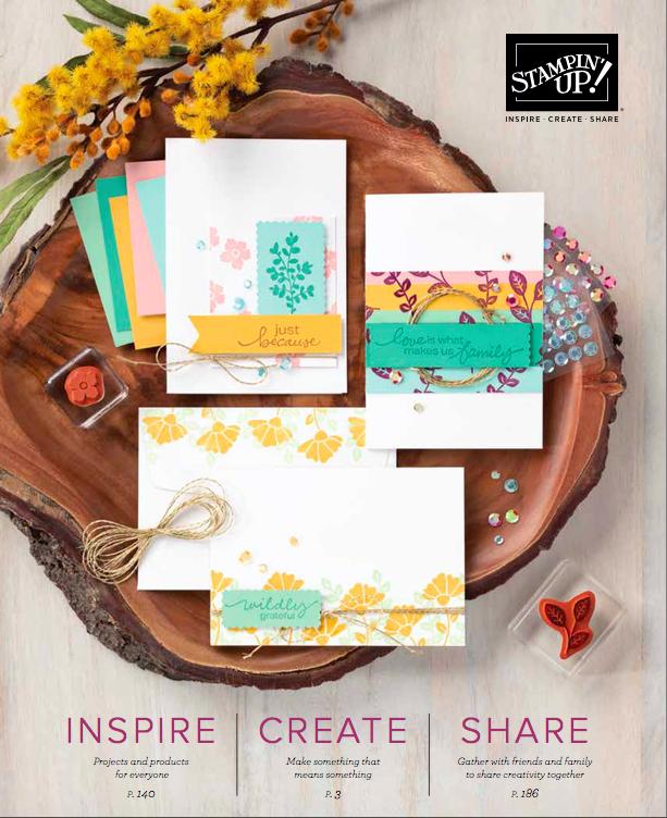 New Stampin Up Catalogue