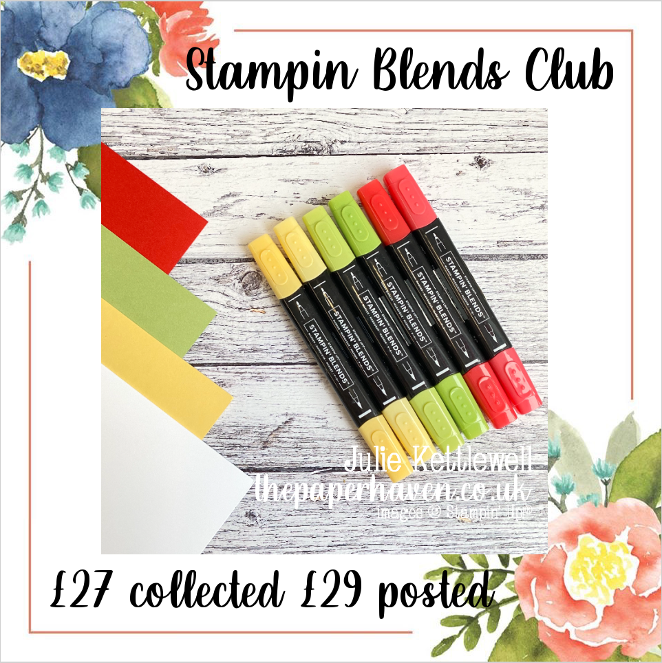 Blends Club for February