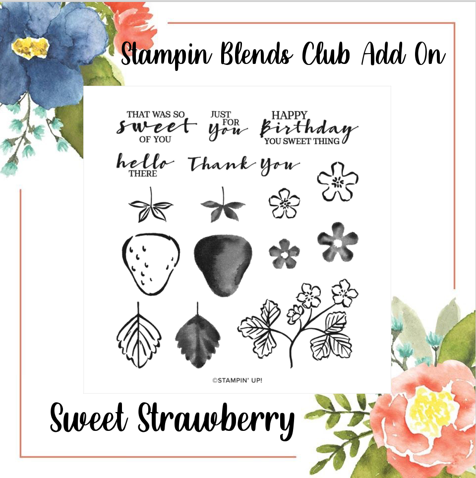 Blends Club Stamp Set advert