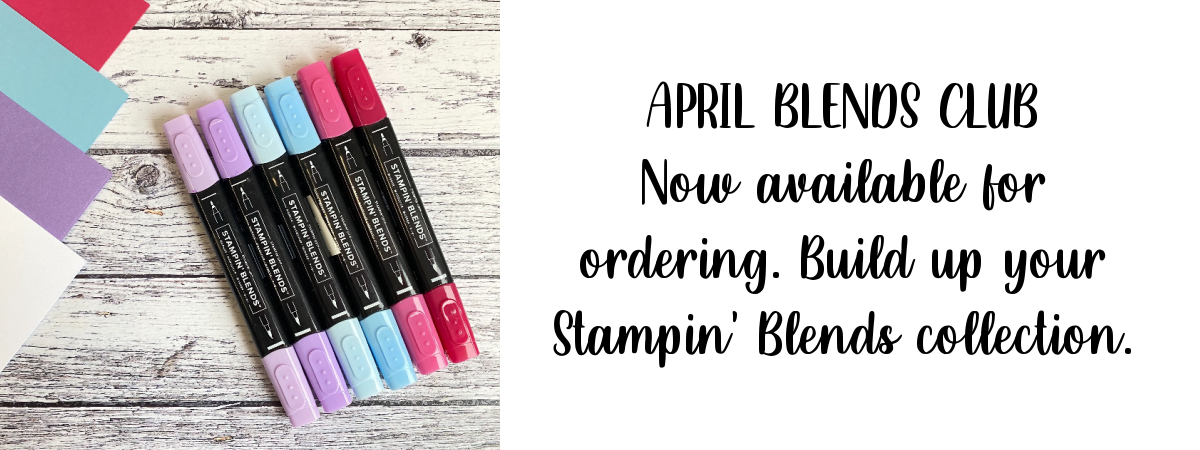 April Blends Club slider